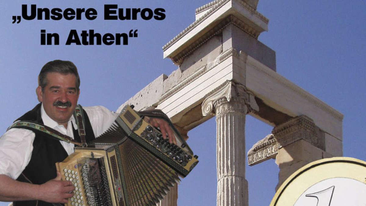 """Wiesn-Hit 2012: Thomas Berger singt """"Unsere Euros in Athen ..."""